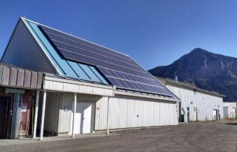 Crested Butte community solar garden